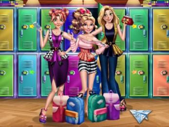 Princess back to School