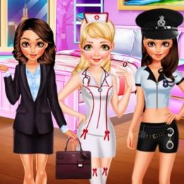 BFF Princess Career Photoshoot