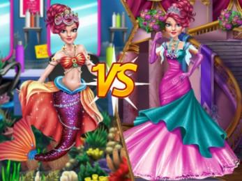 Mermaid vs Princess