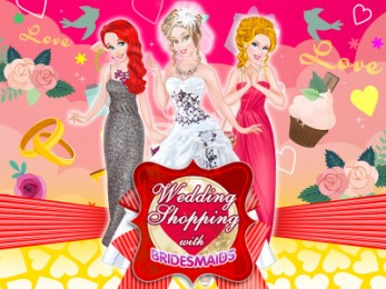 Wedding Shopping with Bridesmaids