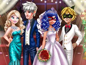 Ladybug Wedding Royal Guests