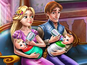 Rapunzel Twins Family Day