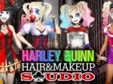 Harley Quinn Hair and Makeup Studio