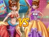 Anna Mermaid Vs Princess