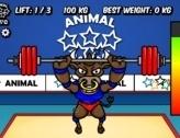 Animal Olympics - Weight Lifting