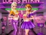 Ellie and Annie Movie Night!