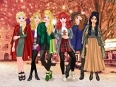 Princesses Christmas Rivals