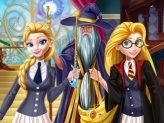 Princesses at School of Magic