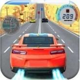 Car Racing in Fast Highway Traffic