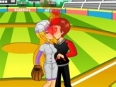 Baseball Kissing