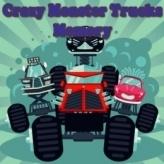 Crazy Monster Trucks Memory