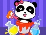 Baby Panda Color Mixing Studio