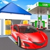 Gas Station : Car Parking