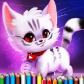 Cute Kitty Coloring