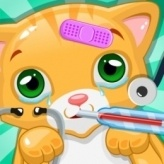 Little Cat Doctor Pet Vet Game