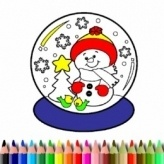 BTS Christmas Coloring Book