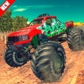 Monster 4x4 Offroad Jeep Stunt Racing