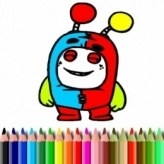 BTS Sweet Monsters Coloring