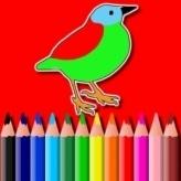 BTS Birds Coloring Book