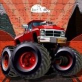 Crazy Monster Trucks Puzzle