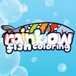 Rainbow Fish Coloring