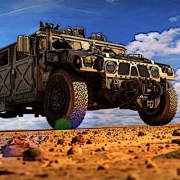 Military Transport Vehicle