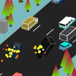 Blocky Highway Racing