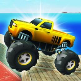 Monster Truck Port Stunt