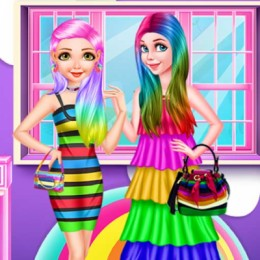 Princess Rainbow Look